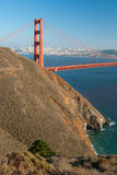 The Golden Gate Bridge in San Francisco Royalty Free Stock Image