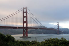 Golden Gate Bridge in San Francisco Stock Image