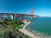 The Golden Gate Bridge in San Francisco Royalty Free Stock Photos