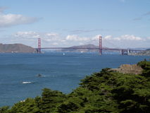 Golden Gate Bridge of San Francisco Stock Photo