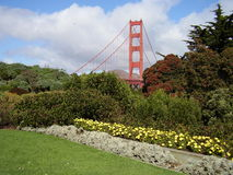 The Golden Gate Bridge in San Francisco Stock Photography