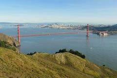 Golden Gate bridge San Francisco. Panorama view of famous Golden Gate bridge, San Francisco Royalty Free Stock Photo