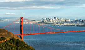 Golden gate bridge, San Francisco imagens de stock royalty free