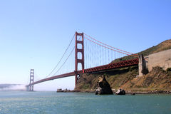 The golden gate bridge. In San Francisco Royalty Free Stock Images