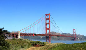 The golden gate bridge Royalty Free Stock Photos