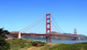 The golden gate bridge. In San Francisco Royalty Free Stock Photos