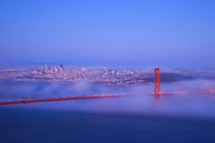 Golden gate bridge, San Francisco image libre de droits