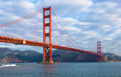 Golden Gate Bridge in San Francisco Stock Images