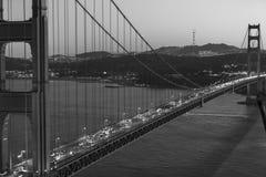 Golden Gate Bridge. The Golden Gate Bridge in San Francisco Stock Photo