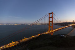 Golden Gate Bridge. The Golden Gate Bridge in San Francisco Royalty Free Stock Image