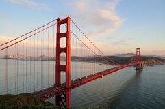 Golden Gate Bridge and San Francisco Royalty Free Stock Photography
