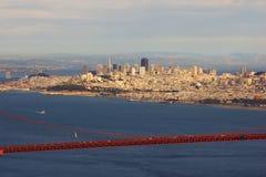 Golden Gate Bridge and San Francisco Royalty Free Stock Photography