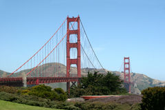 Golden Gate Bridge in San Francisco Stock Images