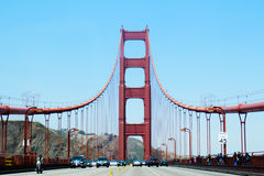 Golden gate bridge ? San Francisco Photographie stock