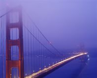 Golden Gate Bridge San Francisco Bay Royalty Free Stock Photography