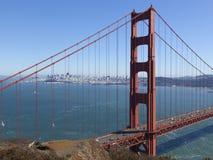 Golden Gate Bridge San Francisco Bay California. Golden Gate Bridge, San Francisco, California, USA view from california Royalty Free Stock Photography