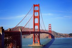 Golden Gate Bridge, San Francisco, C Royalty Free Stock Images