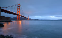 Golden Gate Bridge, San Francisco, CA Royalty Free Stock Photography