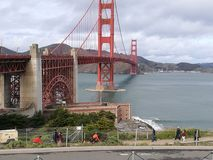 Golden Gate Bridge. San Francisco, CA stock photos