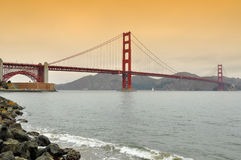 Golden gate bridge, san francisco, ca, us royalty free stock image