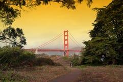 Golden gate bridge, san francisco, ca, us Stock Images