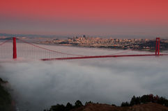 Golden gate bridge, san francisco, ca, usa Stock Photography
