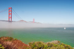 Golden gate bridge, san francisco, ca, usa Royalty Free Stock Photos