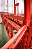 Golden gate bridge, San Francisco, Califórnia, EUA Fotografia de Stock