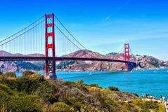 Golden gate bridge San Francisco, Californië Stock Fotografie