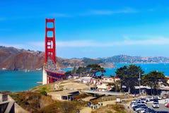 Golden gate bridge San Francisco, Californië Royalty-vrije Stock Foto's