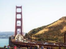 Golden gate bridge - San Francisco, Californië Stock Afbeelding