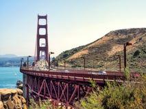Golden gate bridge - San Francisco, Californië, CA Royalty-vrije Stock Foto's