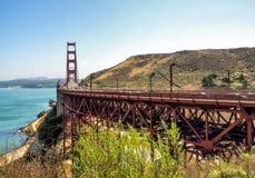 Golden gate bridge - San Francisco, Californië, CA Royalty-vrije Stock Afbeelding