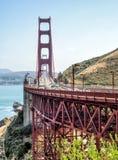 Golden gate bridge - San Francisco, Californië, CA Stock Afbeelding