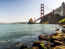 Golden gate bridge - San Francisco, Californië, CA Stock Fotografie