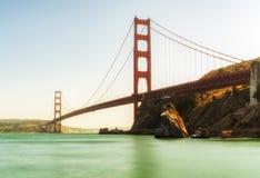 Golden gate bridge - San Francisco, Californië, CA Royalty-vrije Stock Afbeeldingen