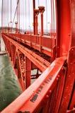 Golden gate bridge, San Francisco, Californië, de V.S. Stock Fotografie