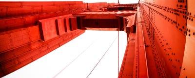 Golden gate bridge, San Francisco, Californië, de V.S. Stock Foto's