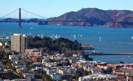 Golden Gate Bridge San Francisco California Royalty Free Stock Photography