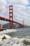The Golden Gate Bridge in San Francisco California Stock Image
