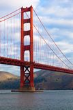 Golden Gate Bridge in San Francisco, California. The Golden Gate Bridge in San Francisco, California Royalty Free Stock Photo