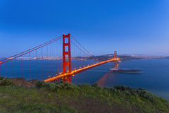 Golden gate bridge, San Francisco California Royalty-vrije Stock Afbeelding