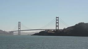 Golden Gate bridge stock video