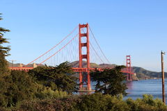 Golden Gate Bridge. In San Francisco, California Royalty Free Stock Images