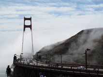 Golden Gate Bridge. In San Francisco, California Stock Photography