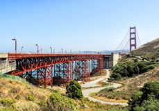 Golden Gate Bridge - San Francisco, California, CA. USA Royalty Free Stock Photography