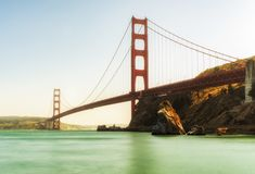 Golden Gate Bridge - San Francisco, California, CA. USA Royalty Free Stock Images