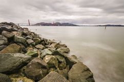 Golden Gate Bridge, San Francisco, California Stock Photos