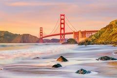 Golden Gate Bridge in San Francisco, California royalty free stock photos