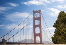 The Golden Gate Bridge in San-Francisco, California Royalty Free Stock Image